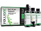 FolliOne DHT Kopfhaut-Therapie für Männer - bei Haarausfall und zurückgehenden Haaransatz, 3 x 60ml (3-Monatspackung)