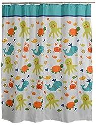 D G F Cortinas de ducha impermeables nórdicas Cortina cortada más gruesa del cuarto de baño personalizado Baño Cortina de la cortina Tamaño multi opcional ( Tamaño : 240*200cm )