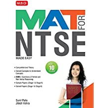 MAT for NTSE Made Easy