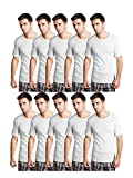 Essar Mens 100% Cotton White Vest Innerw...