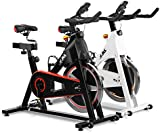 JLL® IC300 Indoor CyclingTM exercise bike, Fitness Cardio workout with adjustable resistance,18Kg flywheel which allows a smooth ride,Ergonomic adjustable handle bar and fully adjustable seat.12 months Home Warranty