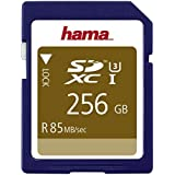 Hama 256GB SDXC 256Go SDXC UHS Class 3 mémoire flash - mémoires flash (SDXC, UHS, Class 3, Bleu)