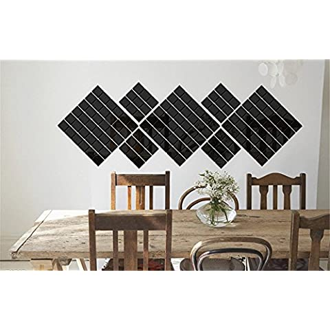 VANCORE ™-Confezione da 100 pezzi, motivo: quadrati di mosaico in