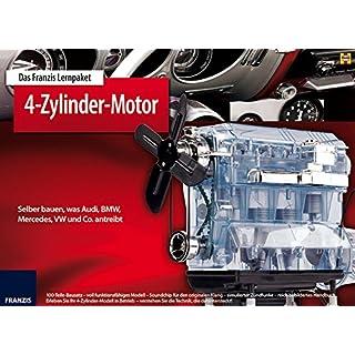 Franzis 65275-9 Lernpaket 4-Zylinder Motor als Bausatz
