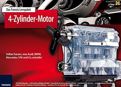 Motoren-bücher (Franzis 65275-9 Lernpaket 4-Zylinder Motor als Bausatz)