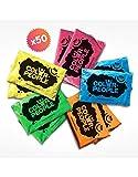 Color People 50Sacchetti di polvere colorata Holi, assortimento di colori