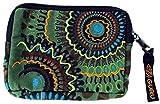 Guru-Shop Portemonnaie `Ethno` in Verschiedenen Farben, Herren/Damen, Olive, Baumwolle, 8x12 cm, Börsen aus Stoff, Hanf & Brokat