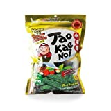 Tao Kae Noi Crispy Seaweed Wasabi Flavor 1.4 oz x 10 Sachets by Tao Kae Noi