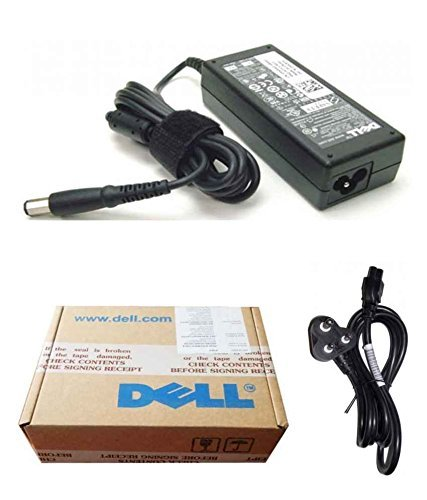 Dell Genuine Original Laptop Power Adapter Charger 90w 19.5V 4.62A 310-3399 332-1833 & Power Cord