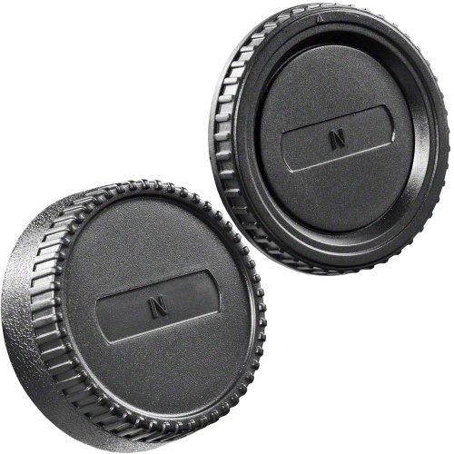 bjektivrückdeckel Set für Nikon F SLR/Objektiv Kamera ()