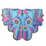 ITISME Châle Femmes Lady Long Butterfly Wing Cape Écharpe Souple Foulards Wrap Shawl Nymphe Costume Châle Cape...
