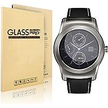 Motorola Moto 360SmartWatch Película Protectora de vidrio templado Protector de pantalla de reloj, nextany® Edge Protector de pantalla compatible para Motorola Moto 360reloj Inteligente