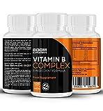 Vitamina B Complex | Complejo de vitamina B altamente efectivo | 120 potentes tabletas | Dosis COMPLETA por 4 meses | Contiene las 8 vitamina B | Garantía total de devolución del dinero por 30 días
