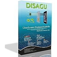 4 x DISAGU ClearScreen Displayschutzfolie für Sony HVL-F43AM anti-bakteriell, BlueLightCut Filter Schutzfolie
