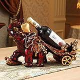 Www Weinregal, Resin-Dekoration Weinregal Europäischen Weinregal Wohnzimmer-Dekoration Exquisite Hausarbeiten geeignet für die Hallen, ktv, Schlafzimmer, Esstisch