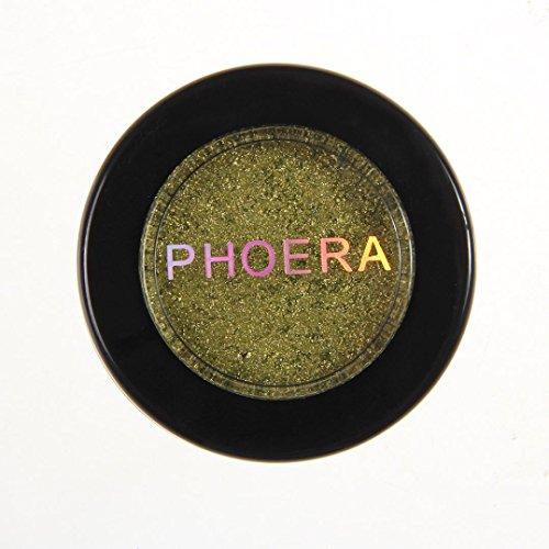 Winwintom PuréE De Pommes De Terre Glitter Shimmering Colors Fard à PaupièRes Metallic Eye Cosmetic (J)