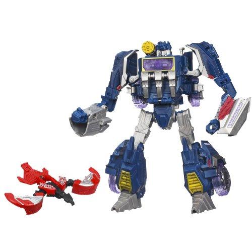 Transformers Generations - Fall of Cybertron - Cybertron Soundwave Figur [UK Import]