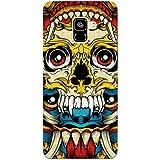 MADANYU Tribal Art Traditional Skull Art Love For Tribal Art Designer Printed Hard Back Shell Case For Samsung A8 Plus