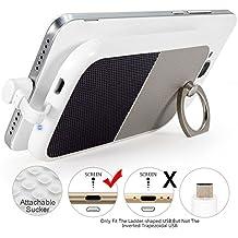 Funda Bateria para Galaxy S7 Plus,4000mAh Powerbank Portatil Carcasa con Bateria Micro USB Enchufe,Batterias Externas para Moviles, Battery Power Bank Cargador Rapido para Samsung S6 HTC LG Moto G5 G4