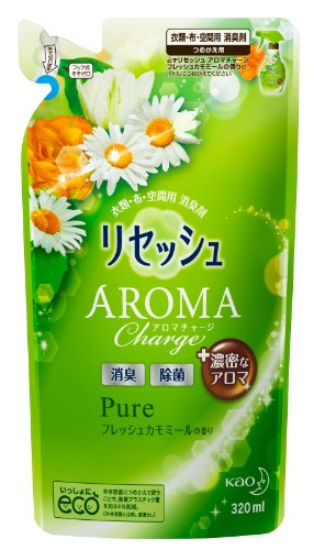 Resesh Aroma Charge Room Fregrans 320ml - Fresh Chamomile - Refill