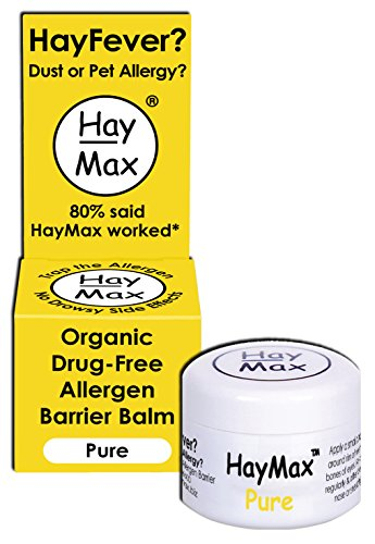 Haymax Pure Organic Pollen Balm For Hayfever 5ml Test
