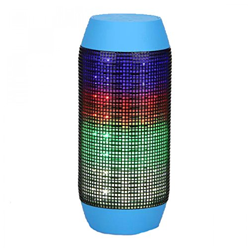 Sony Live with Walkman Compatible Certified Pulse Series Portable Bluetooth Usb/Tf Pulse Speaker Colorful Led Lights Flashing  available at amazon for Rs.1249
