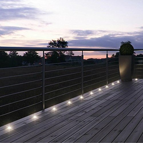 Led Terrassenbeleuchtung terrassenbeleuchtung einbaustrahler 12er set led bod
