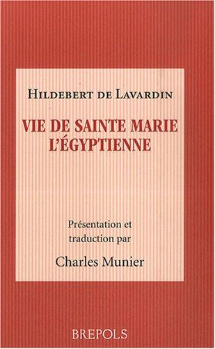 Vie de sainte Marie l'Egyptienne par Hildebert de Lavardin