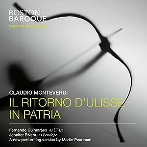 Monteverdi: Il Ritorno d'Ulisse in patria by Linn