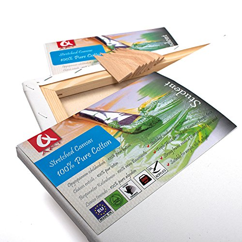 tela-46-x-61-cm-imprimitura-per-pittura-acrilica-preparate-bianche-con-cornice