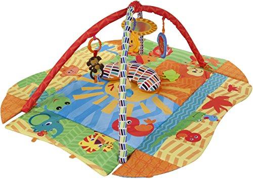 Sun Baby 27291 Tapis/Parc avec coussin - Soleil Multicolore
