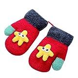 Baby Handschuhe Winter,Covermason Kleinkind Baby Mädchen Jungen Handschuhe Winter Warm Süß Verdicken Nähte Handschuhe