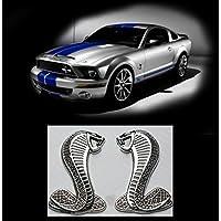 Emblem parafango Shelby Cobra Snake (Mustang Cobra Emblem)