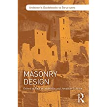 Masonry Design (Architect's Guidebooks to Structures) (English Edition)