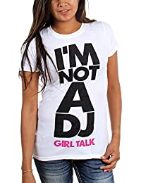 Girl Talk - Womens I Am Not a DJ T-Shirt