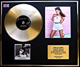 EC ARIANA GRANDE/Goldene Schallplatte/RECORD & Foto-Darstellung/Limitierte Edition/COA/DANGEROUS WOMAN