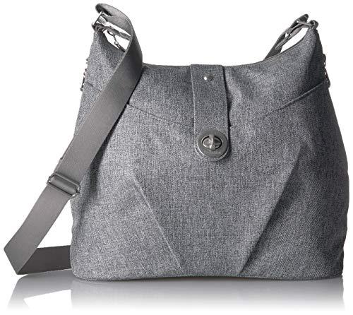 Baggallini Damen Bagg Helsinki Tasche, hellgrau, Einheitsgröße -