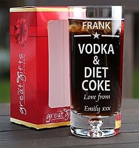 Vodka Diet Coke and Juke Box on