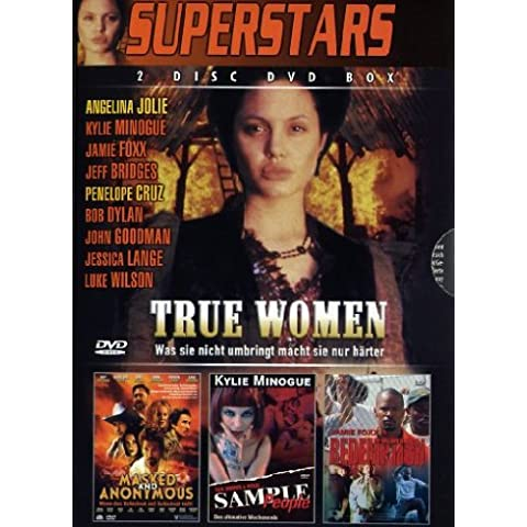 4 Film-Box Superstars : True Women - Masked And Anonymous - Sample People - Redemption