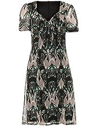 Voodoo Vixen Kleid SWANS DRESS 8110