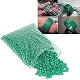 Duevin Perlas de Cera para joyería - Molde de Cera por inyección, Perlas de Cera para joyería - Herramientas Profesionales de depilación, Elementos Esenciales para la Familia(Verde)
