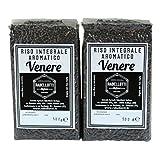 Riso Venere Nero Integrale Aromatico 1Kg (bipack 2 x 500g) sottovuoto - Azienda Agricola Rabellotti Stefano