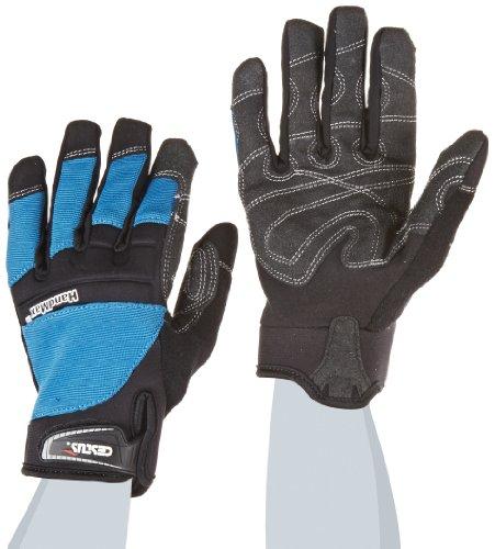 Cestus Handmax BU-6063 M Trade Series HandMax Arbeitshandschuh, schnittfest, Medium, Blau -