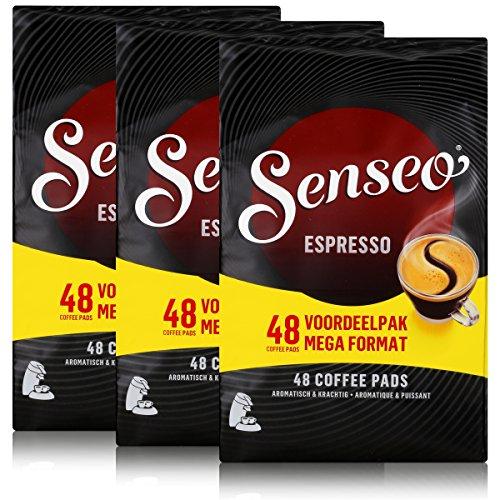 Kaffeepads Senseo Espresso 48 Kaffeepads (3er Pack)