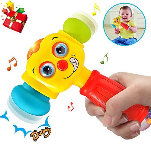 ACTRINIC-Direct Baby-Spielzeug für 12-18 Monate lustige Veränderbare Hammer mit Multifunktions,Lichter und Musik,Beste Geschenke für Frühe Bildung für Kleinkinder,Jungen und Mädchen 1,2,3Jahre Alt (Besten Alt 1 Jahr Bildungs-spielzeug)