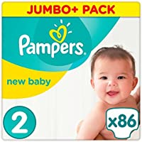 Pampers New Baby Taille 2 Jumbo + Lot 86 couches