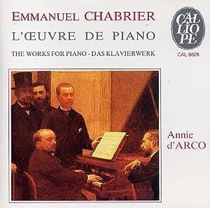 Chabrier : L'oeuvre de piano