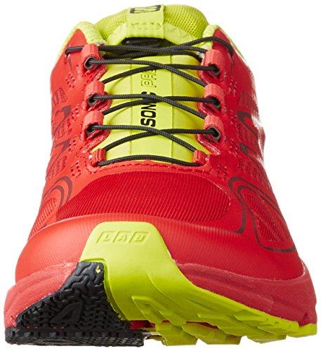 Salomon Sonic Pro - Chaussures de running - vert 2016 Rouge