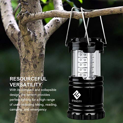 KYJ Nachtlicht Effektive 1 Packung Tragbare Camping-Laterne Led Mit 12 Aa-Batterien Survival Kit Für Notfall Hurricane Power Outage Cl10 Lampe (Notfall-hurricane-lampen)