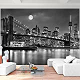 Fototapeten New York 352 x 250 cm Vlies Wand Tapete Wohnzimmer Schlafzimmer Büro Flur Dekoration Wandbilder XXL Moderne Wanddeko 100% MADE IN GERMANY -Stadt City NY Runa Tapeten 9101011b